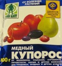 Медный купорос 100г. от болезней